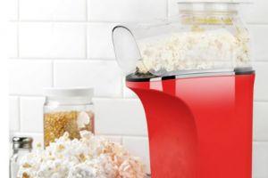 小米有品上新北欧欧慕家用小型爆米花机:159元、易操作-3
