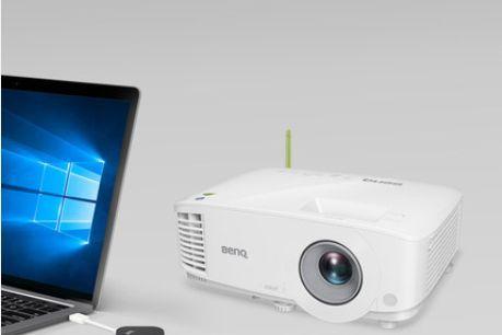 明基发布E580T投影仪:全平台无线投影-1