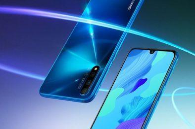 8月30日开售!华为nova5 Pro推出苏音蓝配色-2