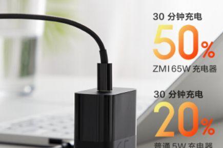 紫米发布65W电源适配器:多协议支持-3