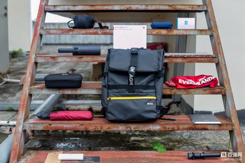 """特能""""装""""随你""""变""""还防水,旅行摄影背包,AGM黑盾双肩包-1"""