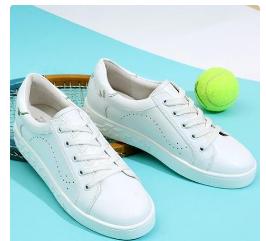 卓诗尼小白鞋,既时尚、舒适又青春活力-3