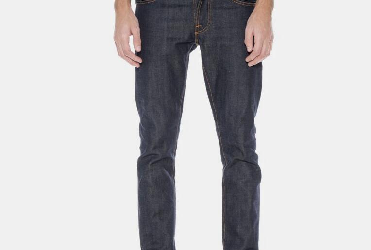 NUDIE JEANS GRIM TIM DRY SELVAGE COMFORT 牛仔裤怎么样?价格高吗?-1