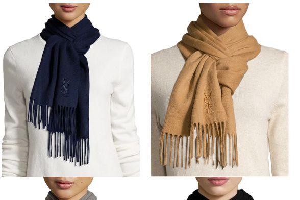 YSL围巾便宜吗?YSL围巾正品什么价格?-3