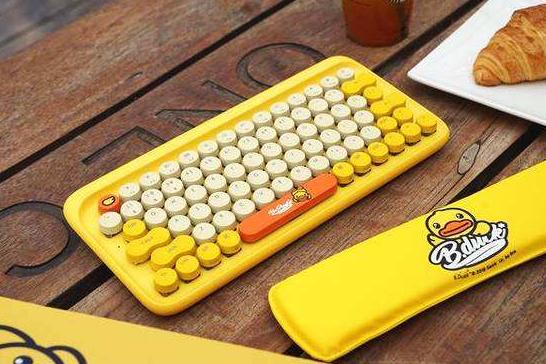 洛斐小黄鸭机械键盘价格是多少?使用手感怎么样?-1
