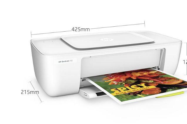 惠普1112打印机怎么样?惠普1112打印机怎么装墨盒?-1