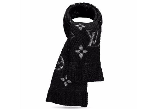 lv老花围巾是什么材质?lv老花围巾暖和吗?-1