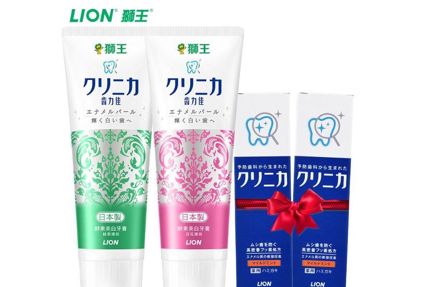 狮王齿力佳酵素美白牙膏有效果吗?是网红品牌吗?-1