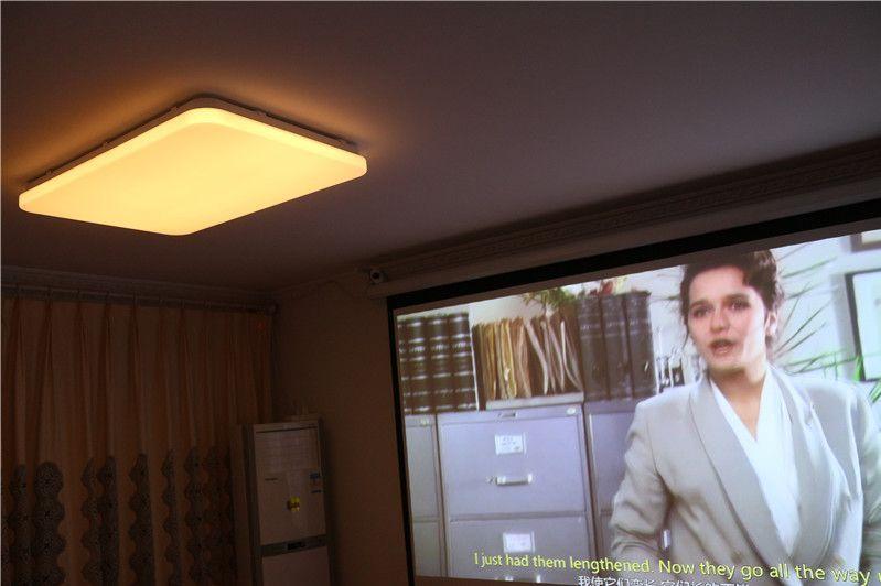 老房子灯具更新换代!自己动手更换米家智能吸顶灯~-1