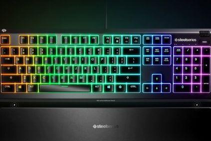 赛睿发布 Apex 3和Apex 5超薄游戏键盘:售价69.99美元起-1