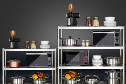 厨房置物架怎么选 厨房置物架材质哪种好-2