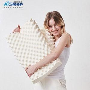 睡眠博士泰国乳胶枕头天然橡胶防螨枕芯一对单人护颈椎双人助眠