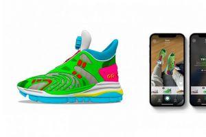Gucci推出首款AR虚拟鞋系列,网友:相当于花钱买了个高级滤镜-1