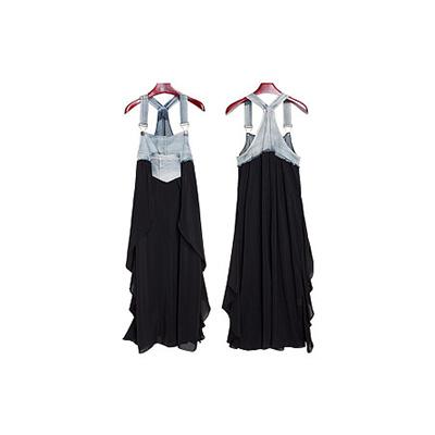 背带连衣裙