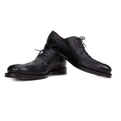 布洛克皮鞋