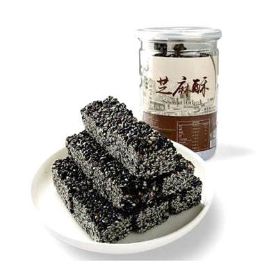 黑芝麻酥糖
