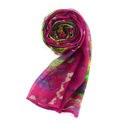 桑蚕丝围巾