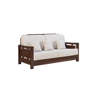 实木布艺沙发
